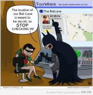 Foursquare Batman